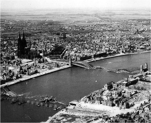 Cologne Cathedral 1945