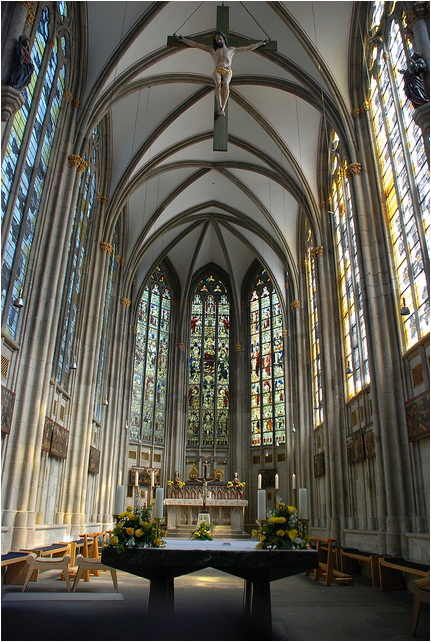 Cologne Cathedral Gothic Arcades